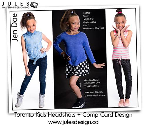 Portraits for Compcards and Auditions for actors, actress from Toronto Markham Mississauga