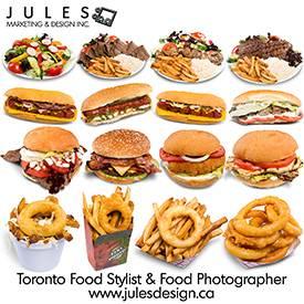Food Stylist Toronto Food Photographer