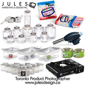 Toronto Product Photography Rates