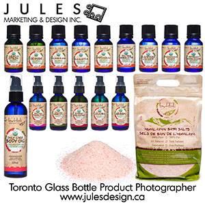 Toronto Glass Botlle Product Photographer