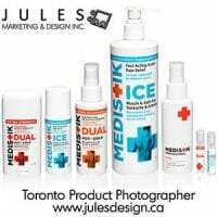 Toronto Medical And Pharmaceuticals Product Photography