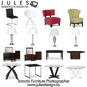 The Best Toronto Furniture Product Photography Studio