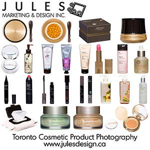 Retail and Cosmetics Toronto Product Photography