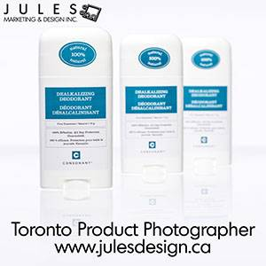 Toronto Product Photography with reflections