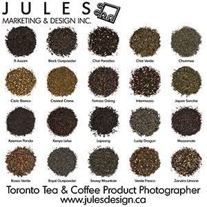 Tea Leaf Toronto Product Photography