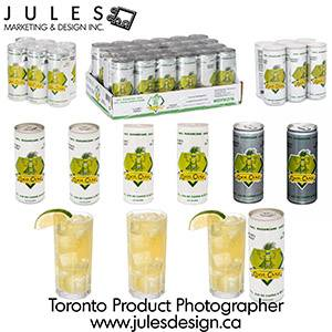 Toronto Softdrink Food Photographer