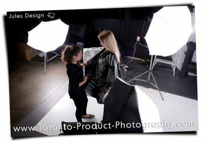 Toronto fashion photography studio