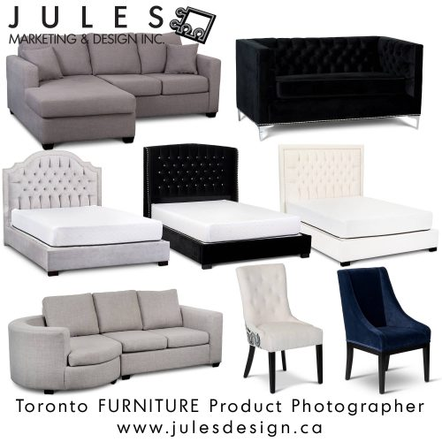 Toronto Furnishings & Furniture Product Photography Studio