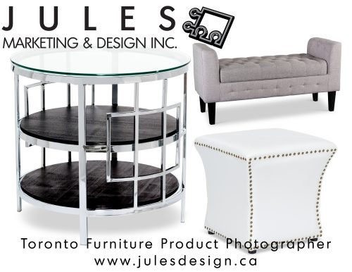 In-studio Catalog Furniture Photography Toronto Markham Brampton Mississauga Studio