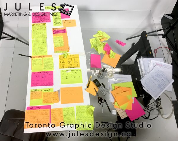 Toronto Graphic Designer Draft Web Site