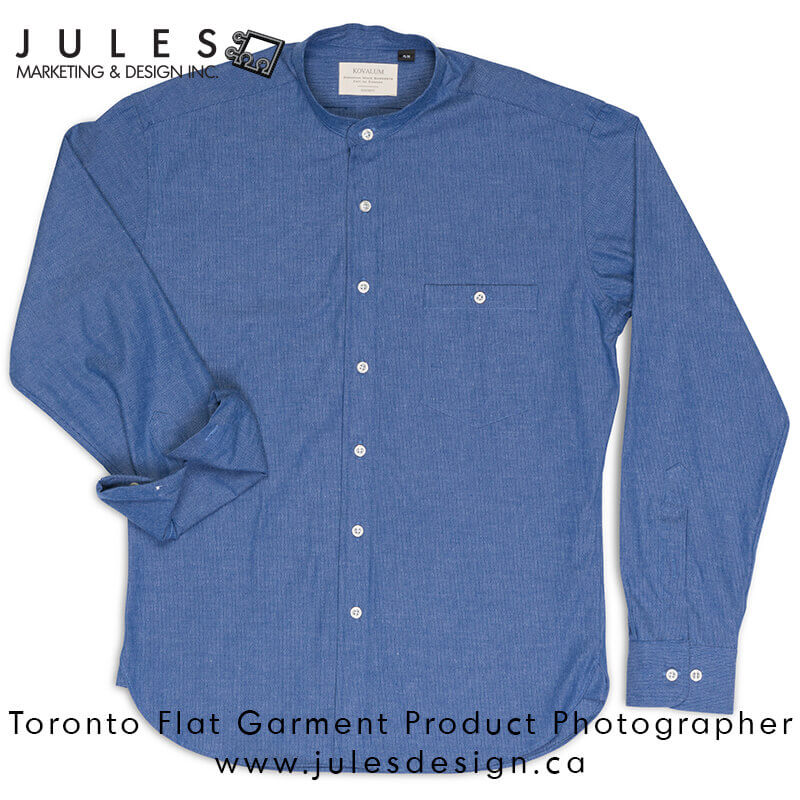 Toronto Flat Clothing Fashion Photographer