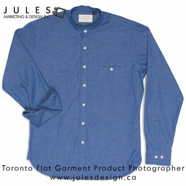 Toronto Flat Clothing Fashion Photographer