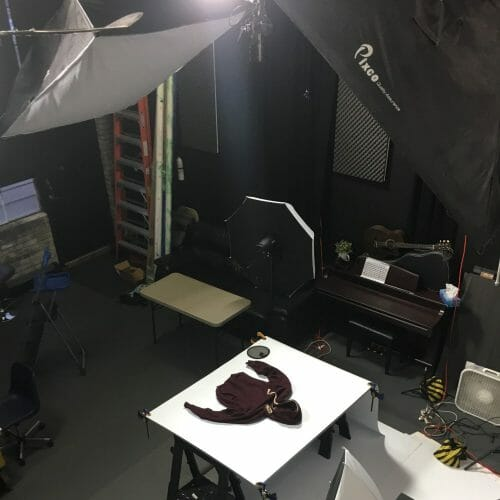 Flat clothing Photography studio Toronto