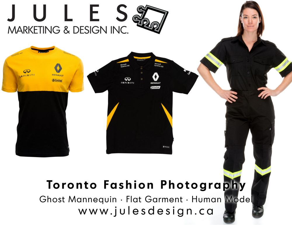 Toronto, Markham, Mississauga Ghost Mannequin, Flat-Garment, or Model Fashion Photographer