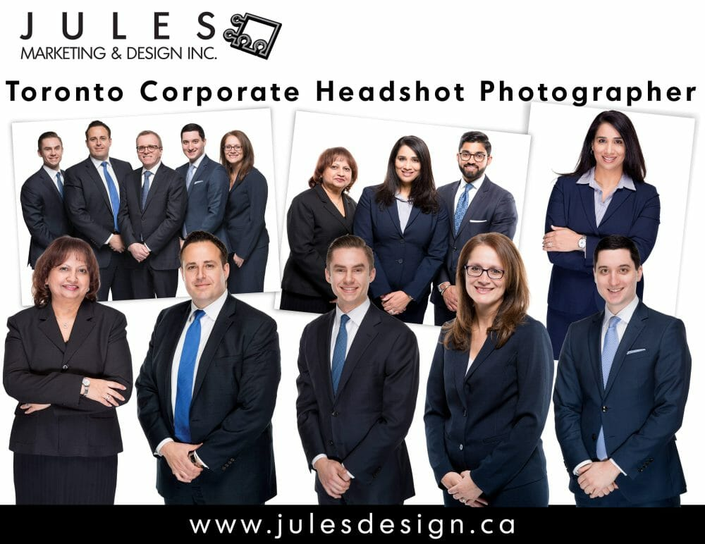 Toronto Group Corporate Portrait Photography
