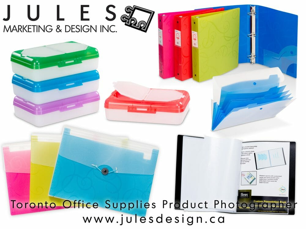 Toronto Office Supplies Product Photographer for e-commerce and Print