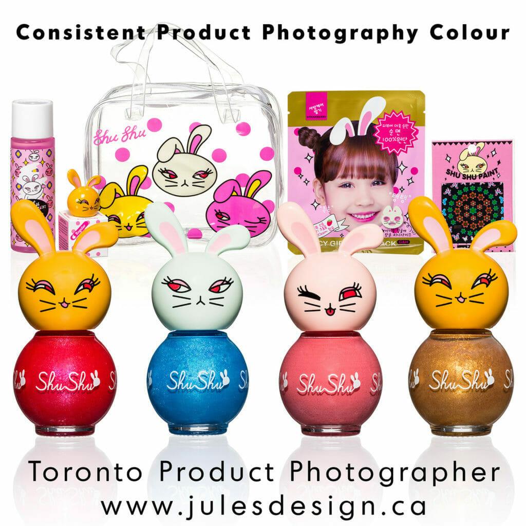 Consistent Colour Toronto Product Photographer
