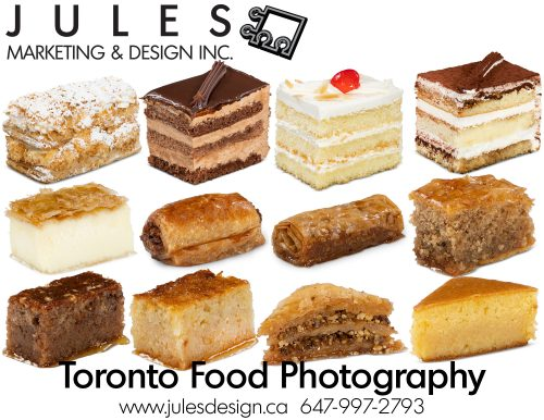 Toronto Product Photography and Cake Food Photographer