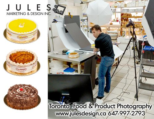 Food Photographer and On-location Toronto Markham Mississauga product photographer