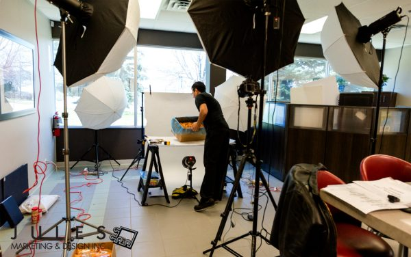 Toronto Product Photo Setup OnLocation