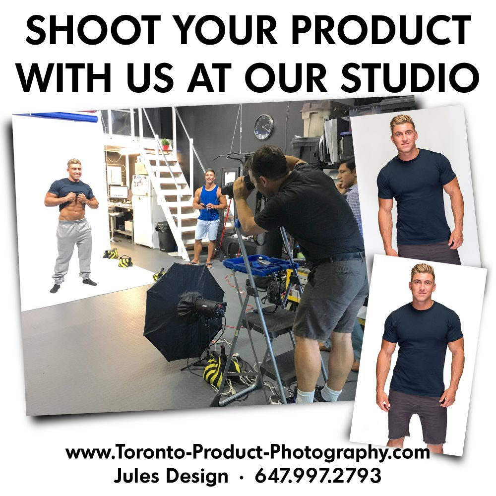 Toronto photo studio photograph with the photographer