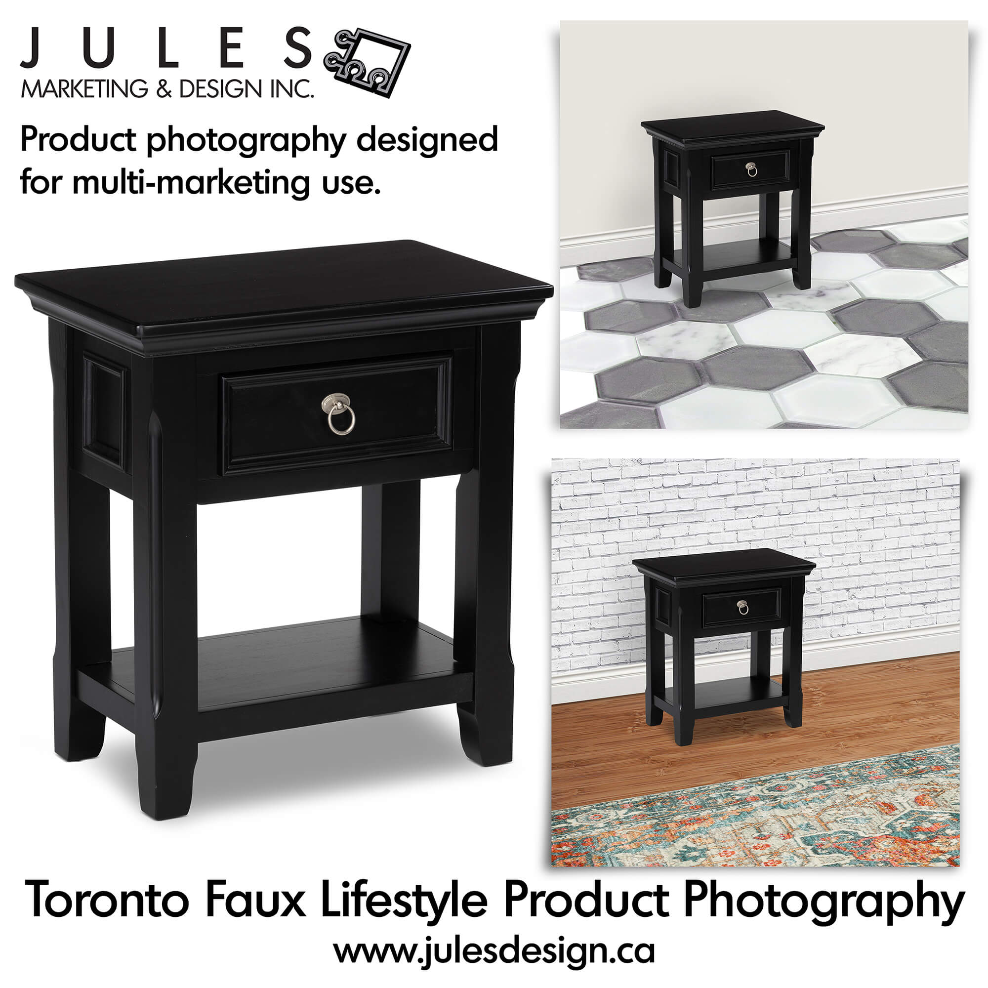 Toronto Photoshop Fake Lifestyle Furniture Photography Studio and Graphic Design