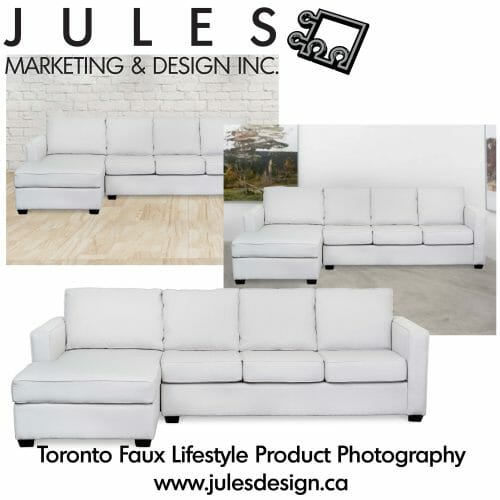 Mississauga Furniture Photographer for Lifestyle photography