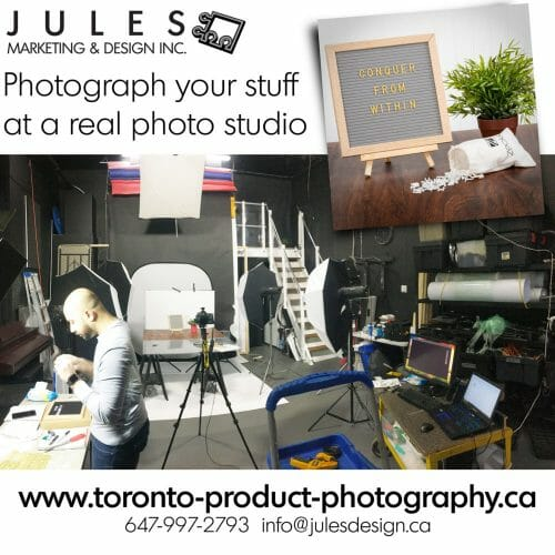 Toronto Studio sets for lifestyle photos