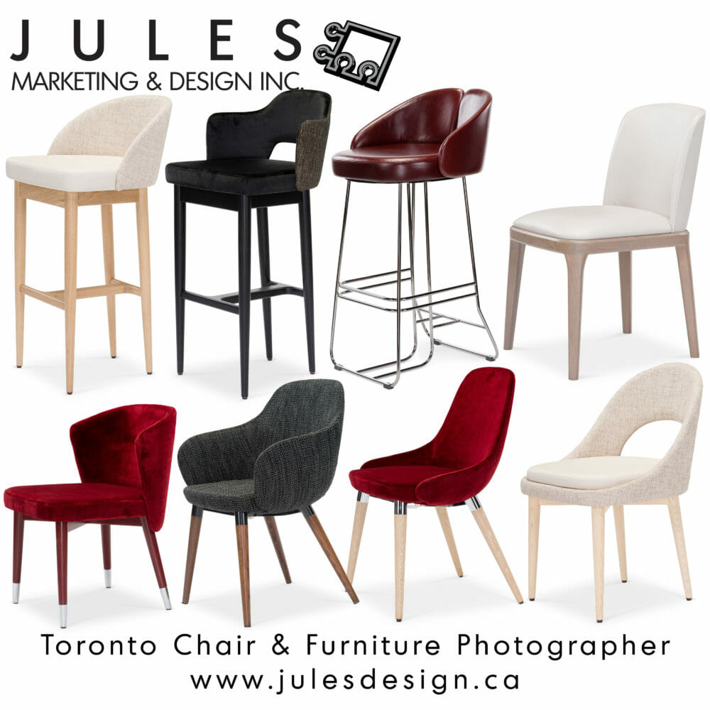 Markham Toronto Mississauga Chair Furniture Product Photographer