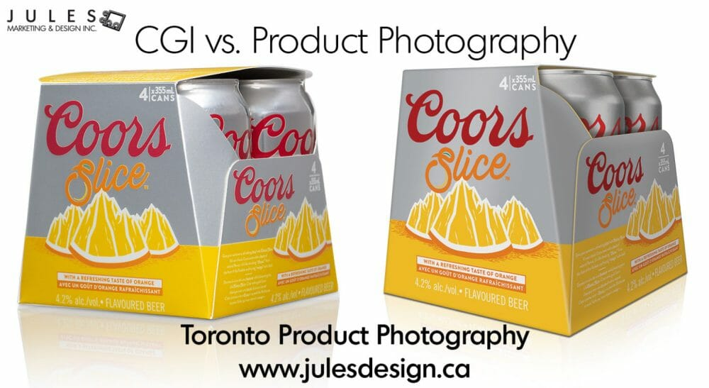 CGI vs Product Photography