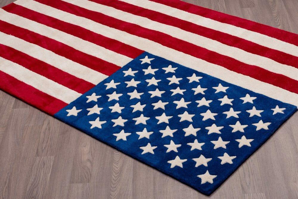 American USA Flag Carpet