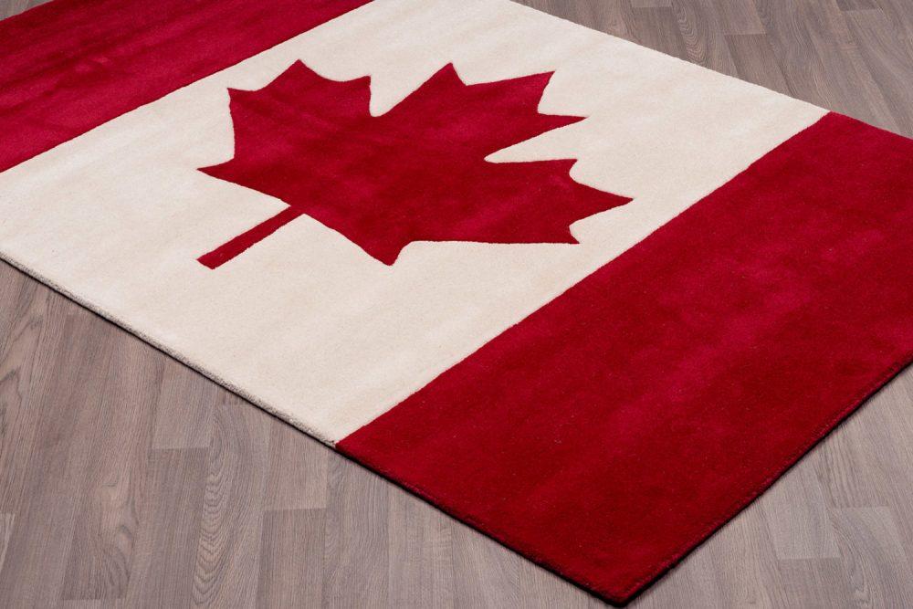 Canadian Flag Carpet