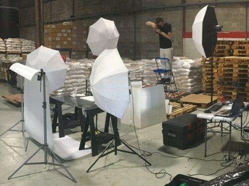 Catalog Warehouse Bulk Product Photography Toronto