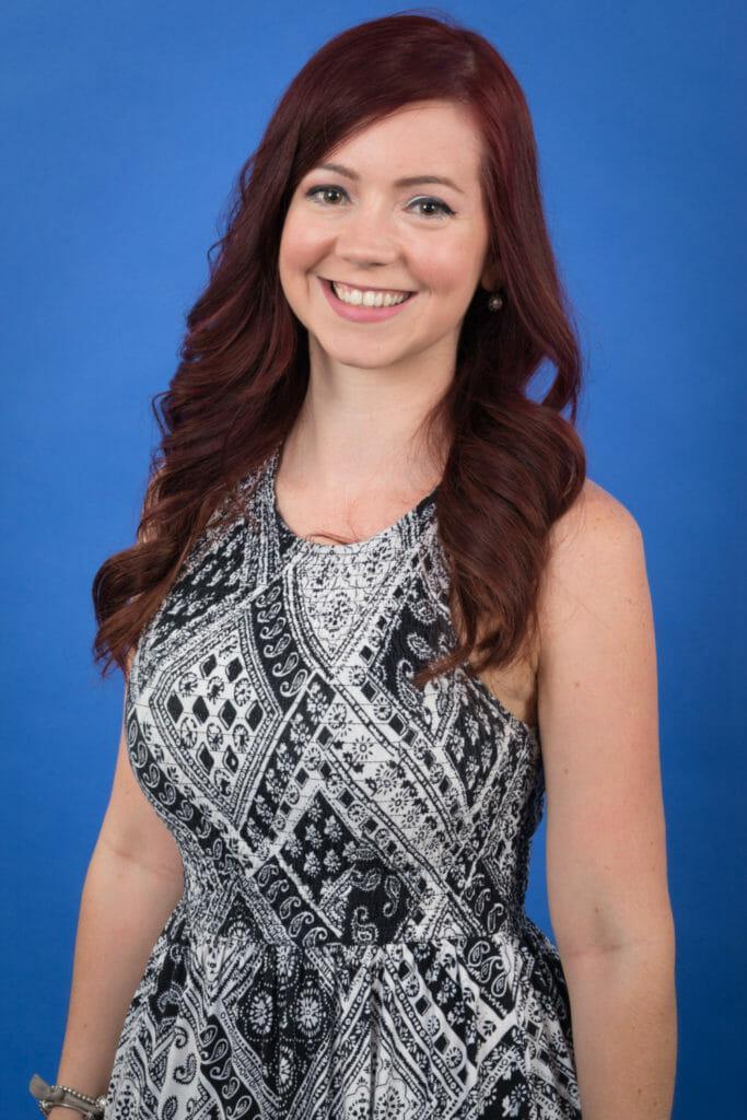 Mississauga Markham Toronto Branded Headshots Portrait Photography on Blue