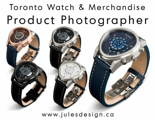 Toronto Jewelry Product Photographer