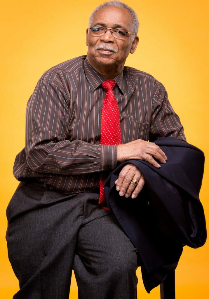 Mississauga Brampton Toronto Branded Author Headshots Portrait Photography on Orange