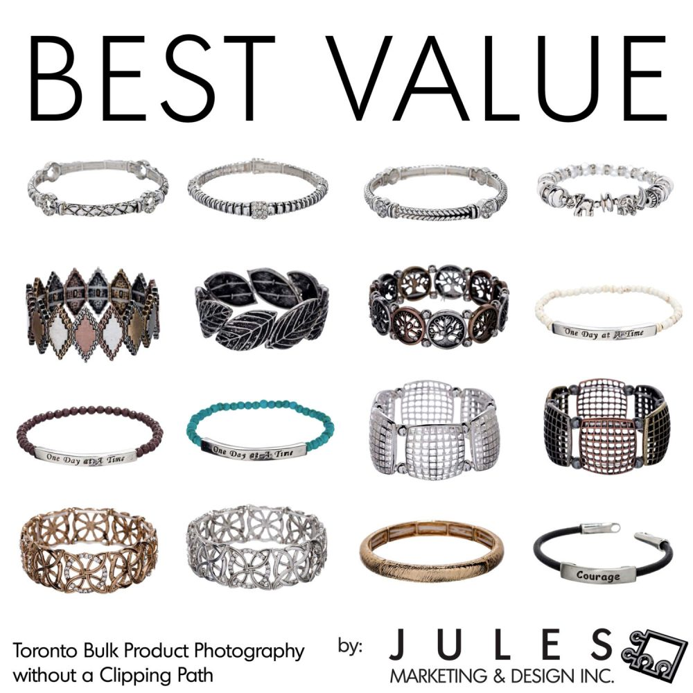 Best Value Bulk Product Photography for Jewelry