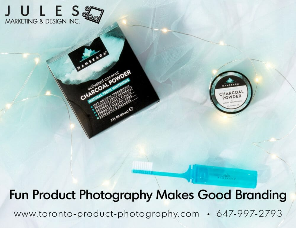 Cosmetic Photography Studio Mississauga Using Props
