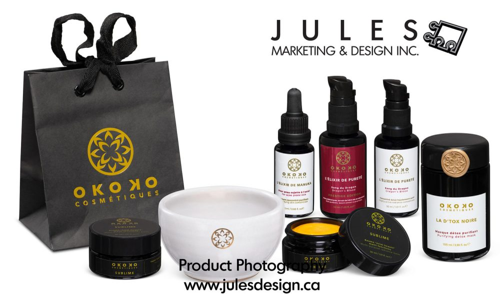 Toronto Group Shot Cosmetic Product Photography