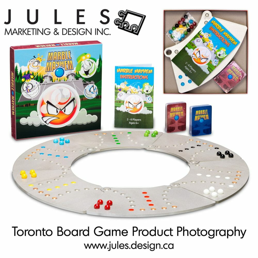 Toronto Board Game Product Photographer