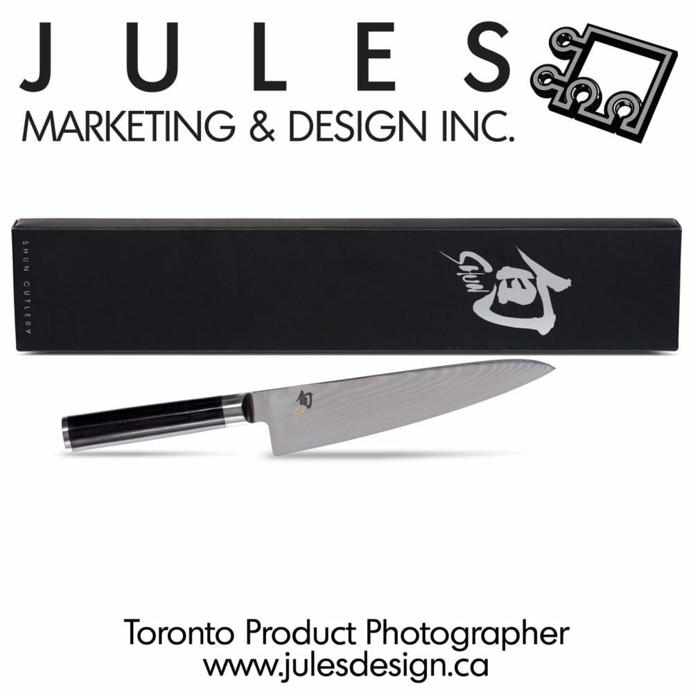 Toronto Cooking Utensil Steel Product Photography