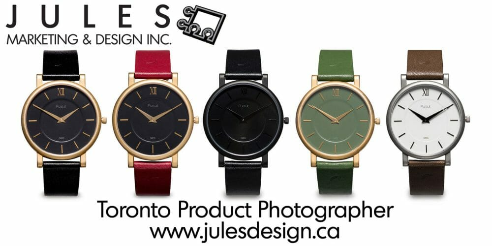 Toronto Watch product photography studio