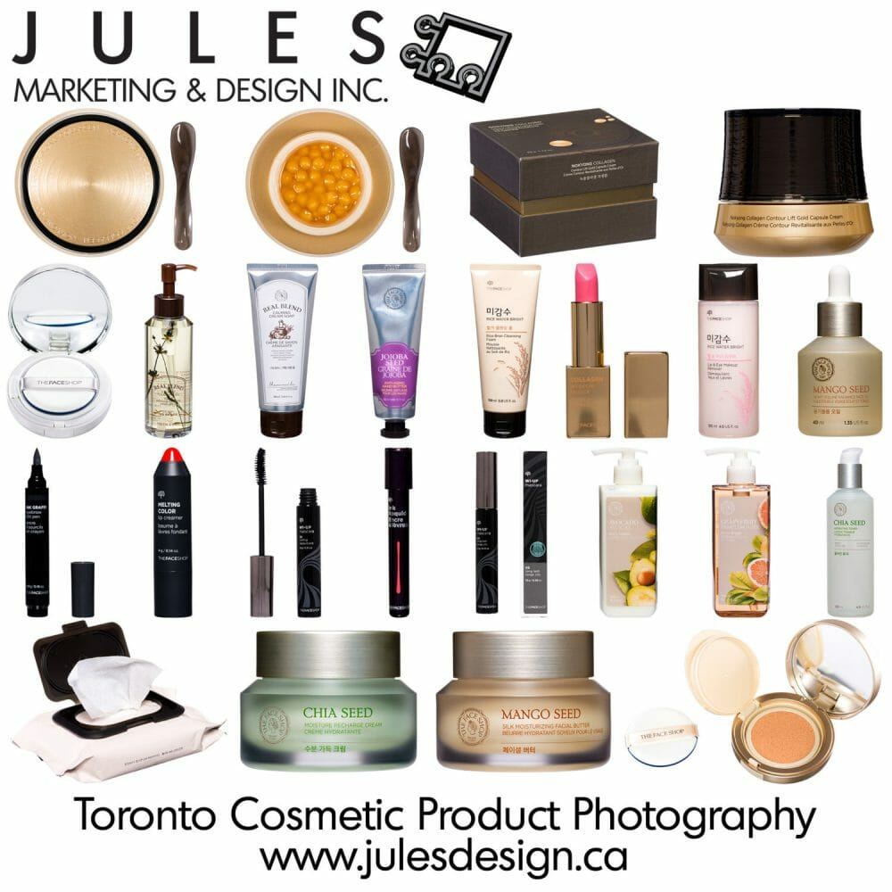 Toronto Cosmetic Photographer