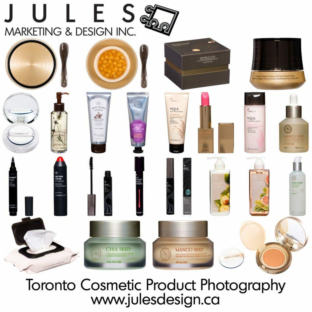 Toronto Cosmetic Photographer