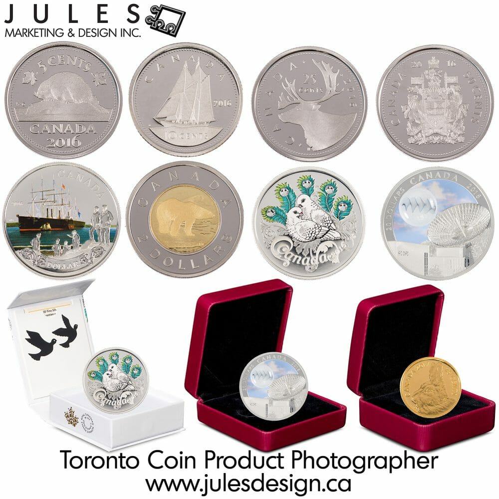 Toronto Coin Jewellry Ring Photographer