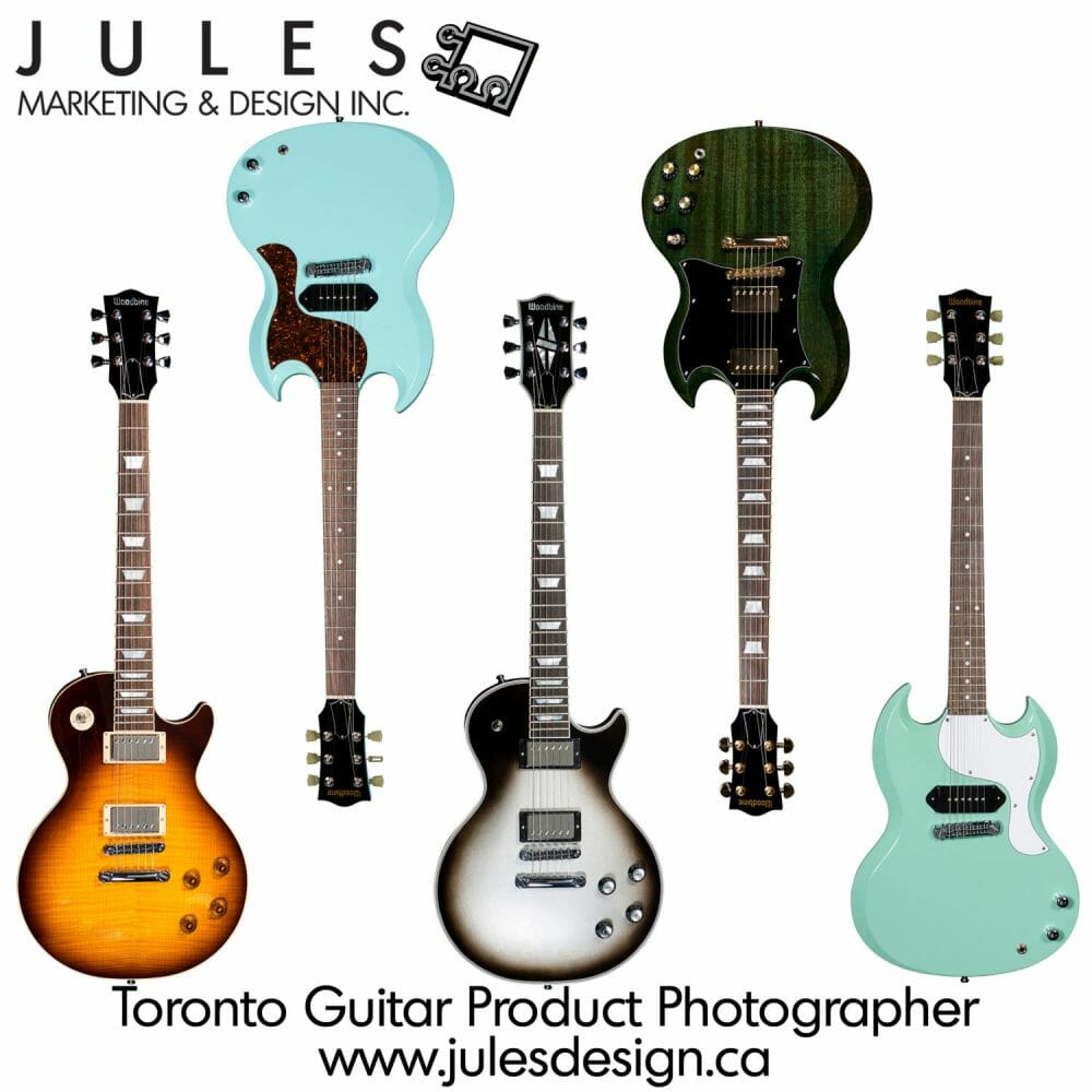 Mississauga Markham Guitar Commercial Photographer