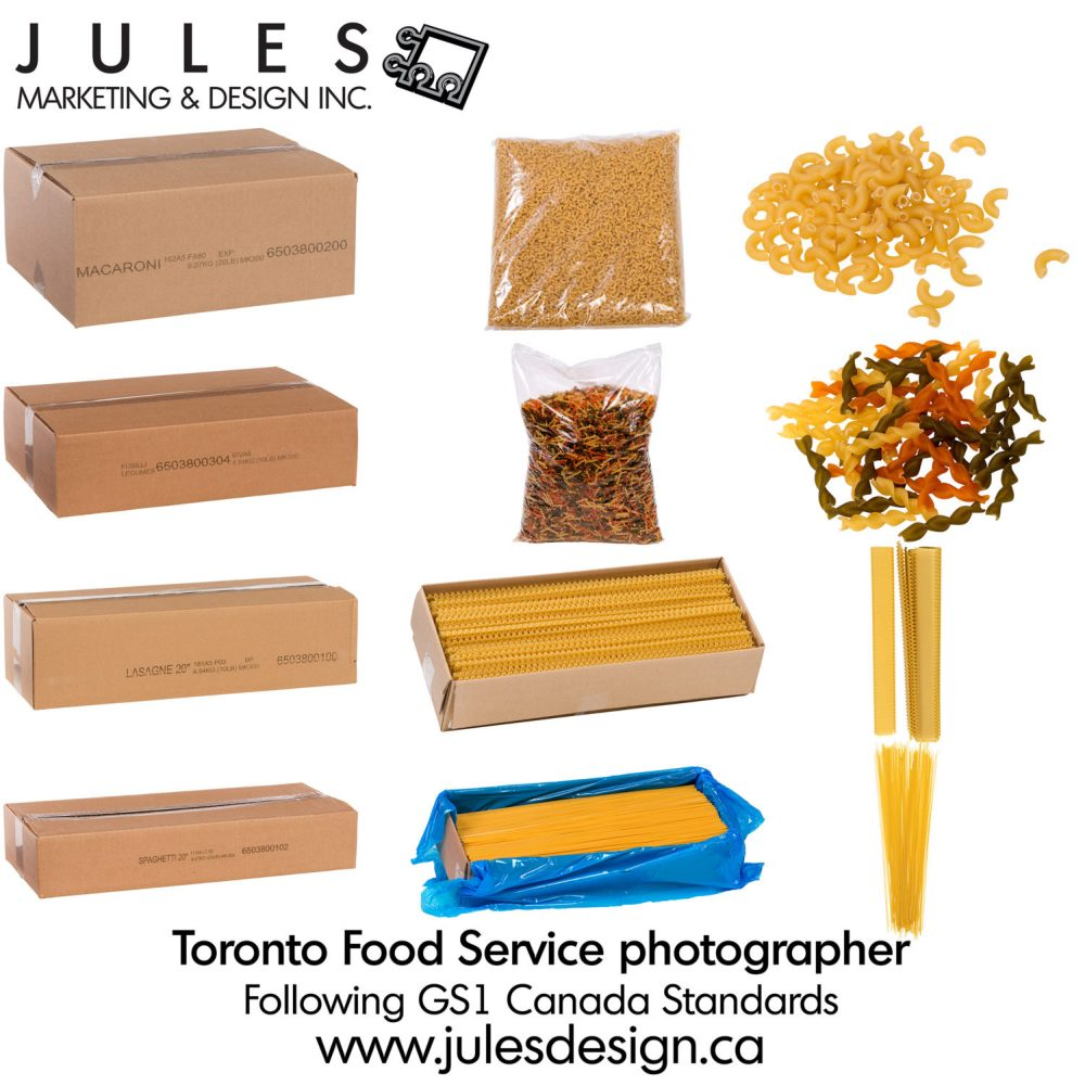 Ontario Toronto Manitoba BC Quebec Canadian Food Service Photography following GS1 ECCnet standards