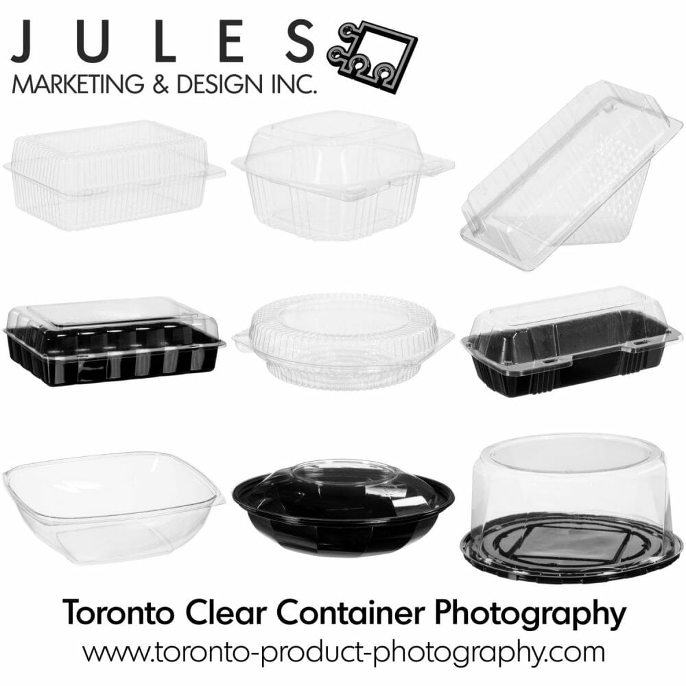 Mississauga Toronto Brampton Oakville Vaughn Clear Container Photography
