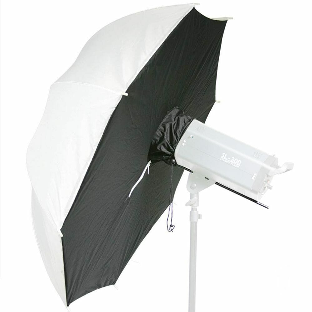 """43"""" Photography Umbrella Diffuser for strobes"""