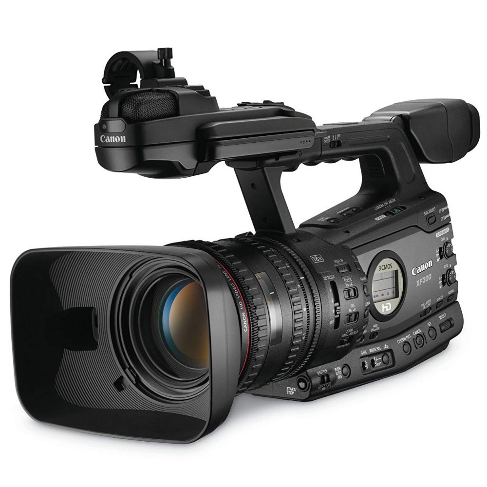 The best video camera; broadcast-grade for television production